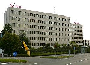 TUI fly Deutschland - TUI fly Deutschland head office in Hannover