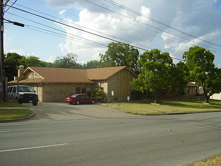 The Turman Halfway House, a Texas Department of Juvenile Justice halfway house in Austin, Texas, USA.