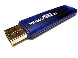 A Flash Drive, a typical USB mass-storage device