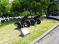 Two M116 75mm Howitzers Display at Chengkungling 20121006.jpg