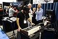 Two Voice Pro, SEM with MIDI to CV Converter - TomOberheim.com booth - 2015 NAMM Show.jpg