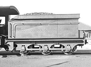 South African type YC tender - Image: Type YC tender of Class 6A no. 462