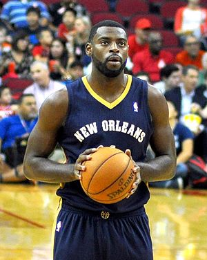Tyreke Evans - Evans with the New Orleans Pelicans in 2013