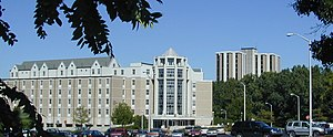 University of Toledo - Horton International House was part of the building boom of the 1980s and 1990s.