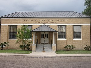 Las Animas, Colorado - U.S. Post Office in Las Animas