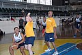 U.S. Sailors assigned to the guided missile destroyer USS John S. McCain (DDG 56) play basketball with Philippine sailors and marines during Cooperation Afloat Readiness and Training (CARAT) 2014 in Subic Bay 140701-N-PK322-018.jpg