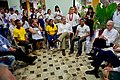 U.S. Special Envoy for the Colombian Peace Process Bernard Aronson Addresses Conflict Victims, Ex- Combatants, and At-Risk Youth Speak About a Job- Training Program at the Escuela Taller in Cartagena (29861922831).jpg