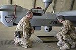 UAV MQ-5B Hunter launch and recovery at Kandahar Airfield 150806-N-SQ656-745.jpg