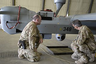 UAV MQ-5B Hunter launch and recovery at Kandahar Airfield 150806-N-SQ656-745.jpg