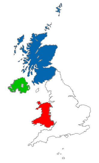 United Kingdom national football team - The four football federations of the United Kingdom
