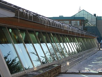 University of Northern British Columbia - Image: UNBC icicles