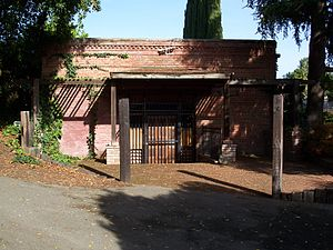 California Historical Landmarks in Santa Clara County, California - Image: USA San Jose Almaden Winery Original Building 1
