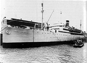 SS Munargo (1921) - Image: USAT Thistle