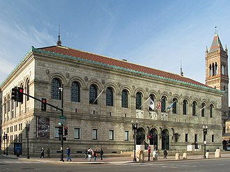Boston Public Library - McKim Building, Copley Square, Boston, 2005