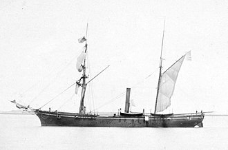 USS Pocahontas (1852) - Image: USS Pocahontas (1852)