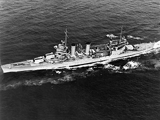USS <i>Quincy</i> (CA-39) United States Navy New Orleans-class cruiser