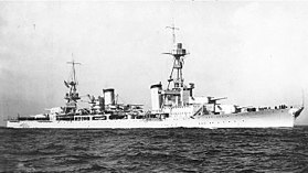 USS Salt Lake City (CA-25) in den 1930ern