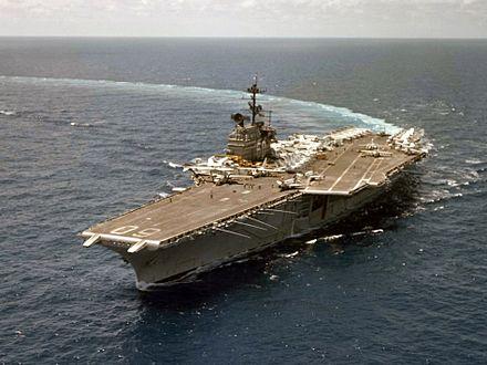 USS Saratoga (CV-60) - Wikipedia
