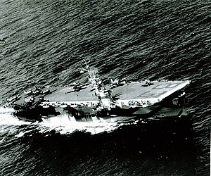 USS Sargent Bay (CVE-83) underway 1944