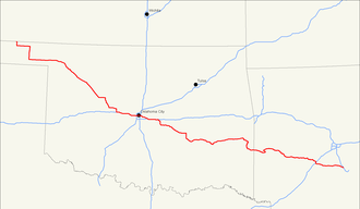 U.S. Route 270 - Image: US 270 map