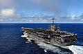 US Navy 070824-N-3541A-058 Nimitz-class aircraft carrier USS John C. Stennis (CVN 74) transits through the water prior to conducting an air power demonstration.jpg