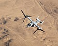 US Navy 071110-M-7404B-036 An MV-22B Osprey with Marine Medium Tilt rotor Squadron-263, flies over the Al Anbar Province of Iraq during a mission out of Al Asad Air Base.jpg