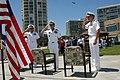 US Navy 080620-N-6730G-022 From left, Rear Adm. Garry Bonelli, deputy commander, Naval Special Warfare Command, Adm. Eric Olson, commander, Special Operations Command, and Rear Adm. Joseph Kernan, commander, Naval Special Warfa.jpg
