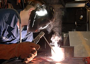 Welding - Shielded metal arc welding