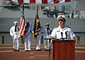 US Navy 110911-N-NY820-192 Adm. John C. Harvey Jr. speaks during a 9-11 Remembrance ceremony at Town Point Park.jpg