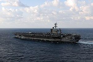 US Navy 120120-N-GZ832-928 The Nimitz-class aircraft carrier USS Carl Vinson (CVN 70) is underway in the Arabian Sea.jpg