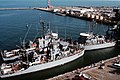US minesweepers return to Norfolk from Gulf War in 1991.jpeg