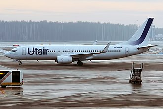 Utair - Utair Boeing 737-800 wearing a new livery