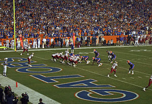 2007 Florida Gators football team - Florida State starts a drive deep in its own territory.
