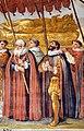 Ulisse giocchi (attr.), Trasporto del corpo di sant'Agnese dentro le mura di montepulciano, 1610 ca. 04.jpg