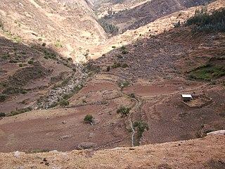 Eleazar Guzman Barron District District in Ancash, Peru