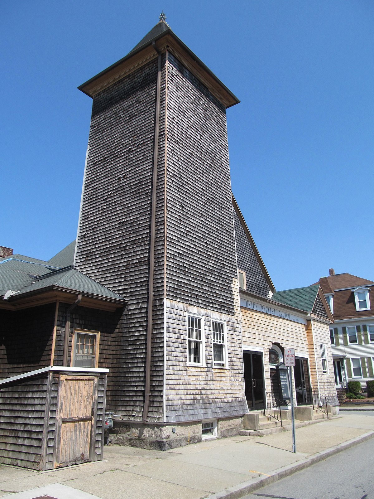Union Baptist Church  New Bedford  Massachusetts