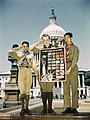 United Nations Fight for Freedom colored, white and Chinese Boy Scouts in front of Capitol, They help out by delivering poster to help the war effort LOC 2179085559.jpg