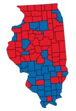 United States Senate Elections And Wikipedia - Us senate red blue map