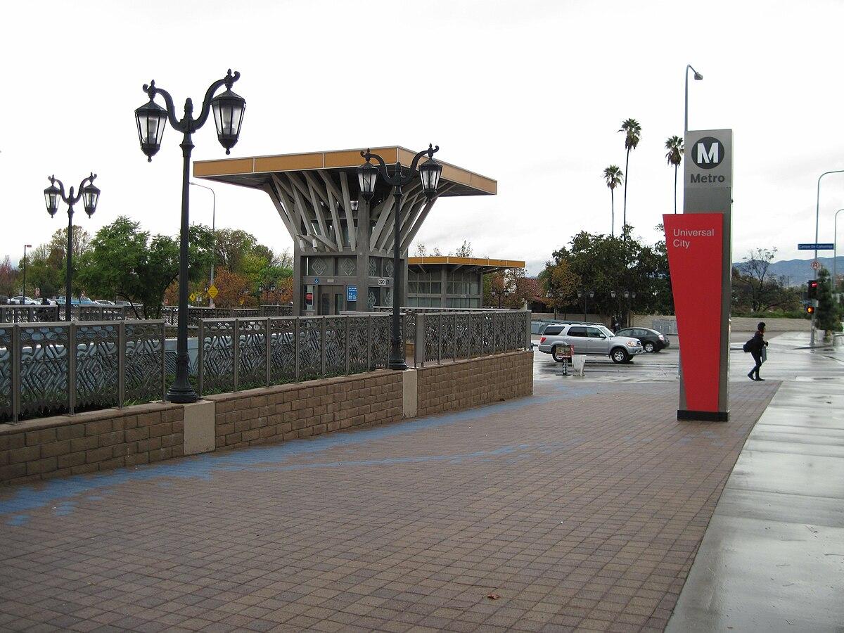 Metro Parking Universal City
