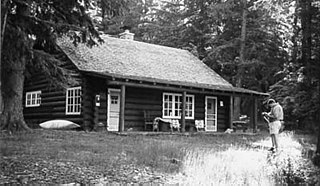 Upper Lake McDonald Ranger Station Historic District Ranger station in Glacier National Park