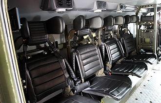 Ural Typhoon - Ural Typhoon passenger compartment
