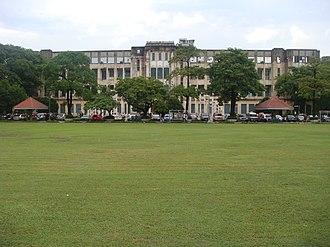 University of Santo Tomas Central Seminary Building - Image: Ust main 2jf