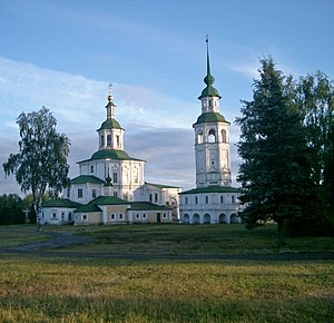Veliky Ustyug - St. Nicholas Church and the bell-tower