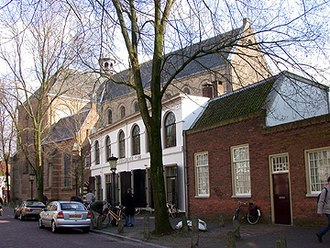 Pieterskerk, Utrecht - The Pieterskerk seen from the northwest