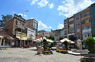 Uzunköprü Place in Edirne, Turkey