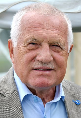 President of the Czech Republic - Image: Václav Klaus Praha 2015 (2) (cropped)