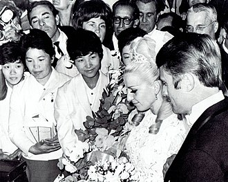 Věra Čáslavská - Čáslavská and Odložil getting married in Mexico City on 26 October 1968