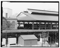 VIEW OF TRAINSHED FROM EAST - Main Street Station, Trainshed, 1520 East Main Street, Richmond, Independent City, VA HABS VA,44-RICH,97-A-1.tif