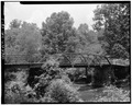 VIEW SHOWING EAST ELEVATION - Fannin County Road 222 Bridge, Spanning Toccoa River, Dial, Fannin County, GA HAER GA,56-DIAL,1-1.tif