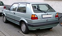 VW Golf II rear 20080206.jpg